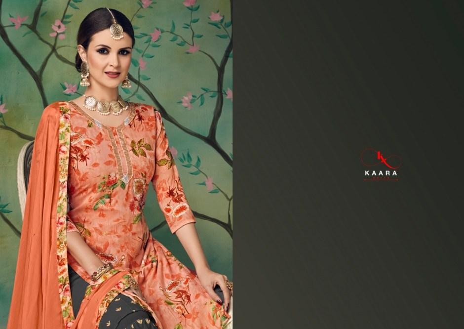 Kaara launch kajri exclusive different sarara style  salwar kameez collection