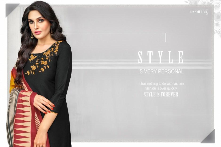 Kasmeera kritika beautiful casual wear salwar kameez collection