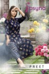 Psyna preet vol 1 fancy beautiful collection of Kurtis