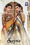 Rachna arts presents sayna beautiful casual printed sarees collection