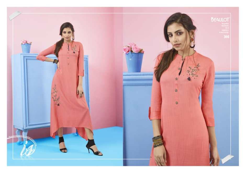 radhak fashion beaulot vol 3 casual simple elegant look kurtis concept