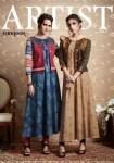 Rangoon Artist vol 2 beautiful Casual festive season of Gown concept kurtis