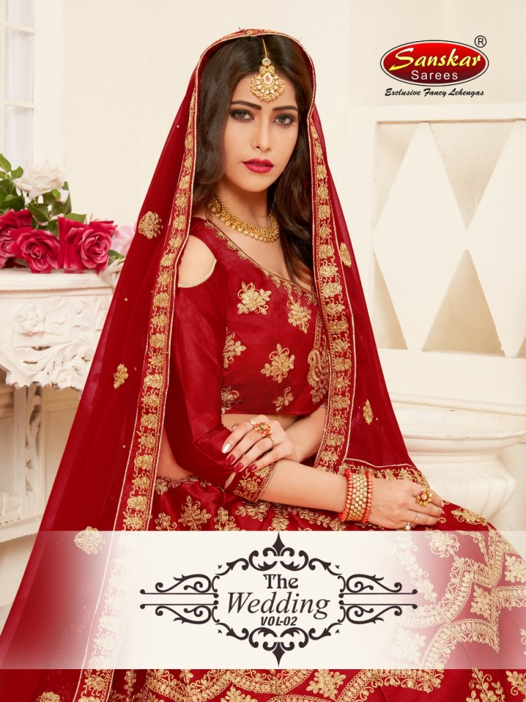 Sanskar sarees presents the wedding Vol 2 Traditional ethnic Wedding season  lehenga collection