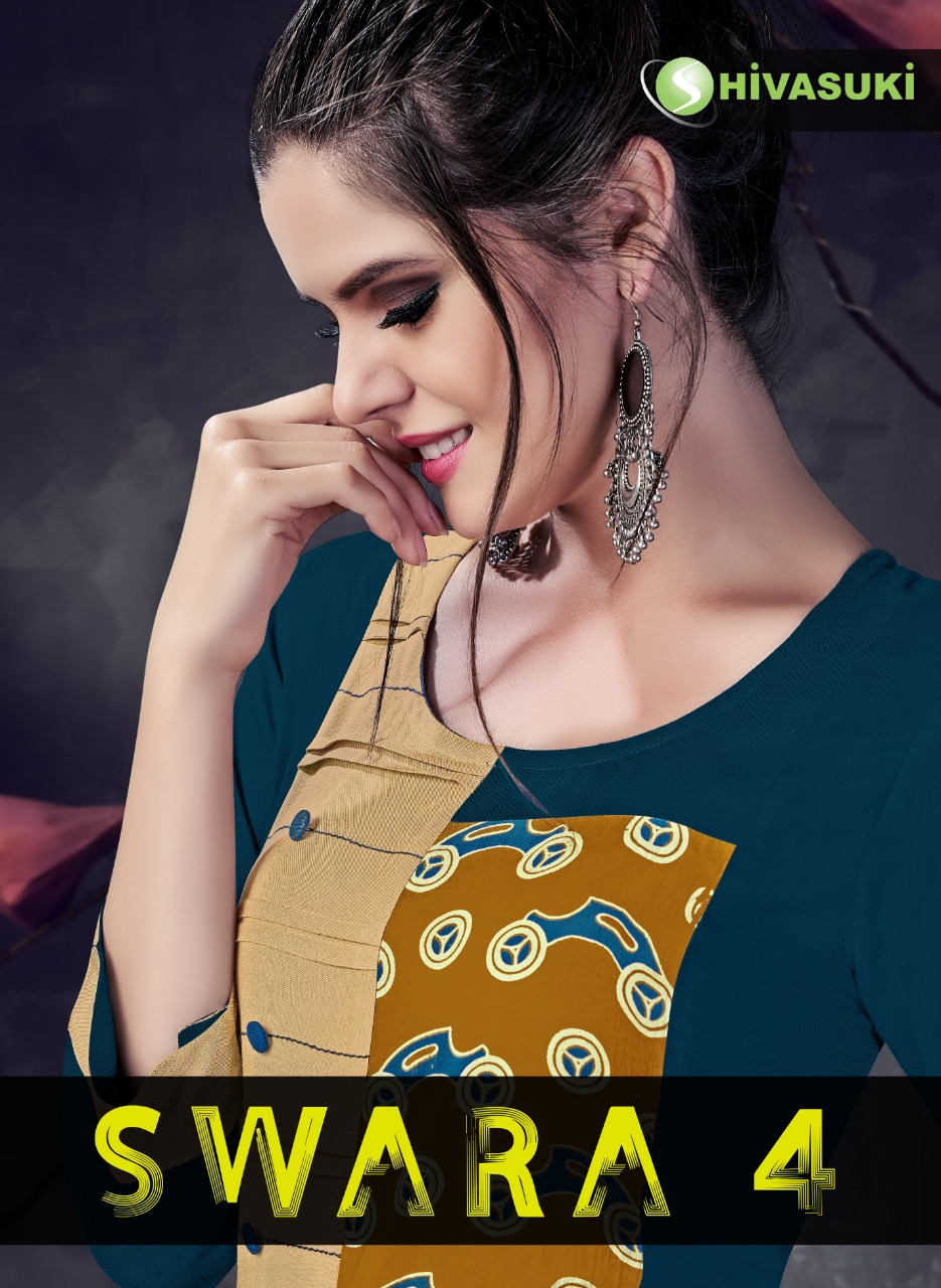 SHIVASUKI LOOKS presents swara vol 4 casual ready to wear kurtis concept