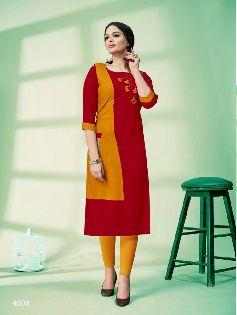 Amore presents vaarahi vol 4 casual Ready to wear kurtis concept