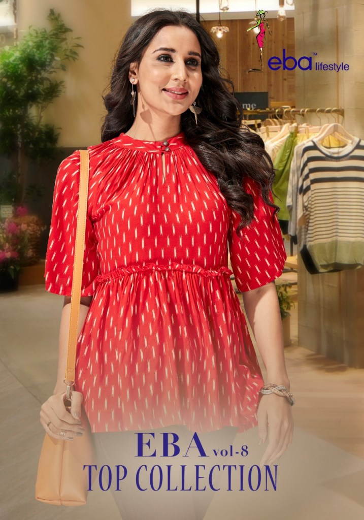 Eba lifestyle Launch eBA vol 8 Stylish weatern Look tops collection