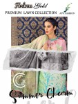 JUVI fashion presenting firdous gold premium lawn collection casual heavy collection of salwar kameez