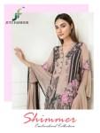 JUVI fashion presents SHIMMER beautiful embroidery work pakistani concept salwar kameez