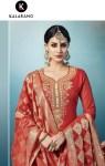 Kalarang creation presents zaverat traditional Ethnic wear salwar kameez collection