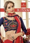 Kalista fashion presents blossom casual fancy wear sarees collection
