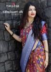 Manjubaa clothing presentinh Maheshwari silk simple stylish trendy look sarees collection