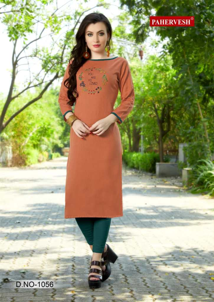 Pahervesh niharika vol 3 casual ready to wear kurtis collection