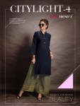Rani trendz citylight 4 beautiful Casual wear kurti with plazzo concept