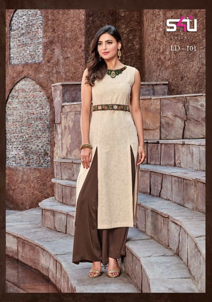 S4u by shivali linen diaries latest Kurties collection Wholesaler