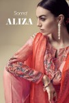 Sanna fashion presents ALIZA beautiful semi casual wear salwar kameez collection