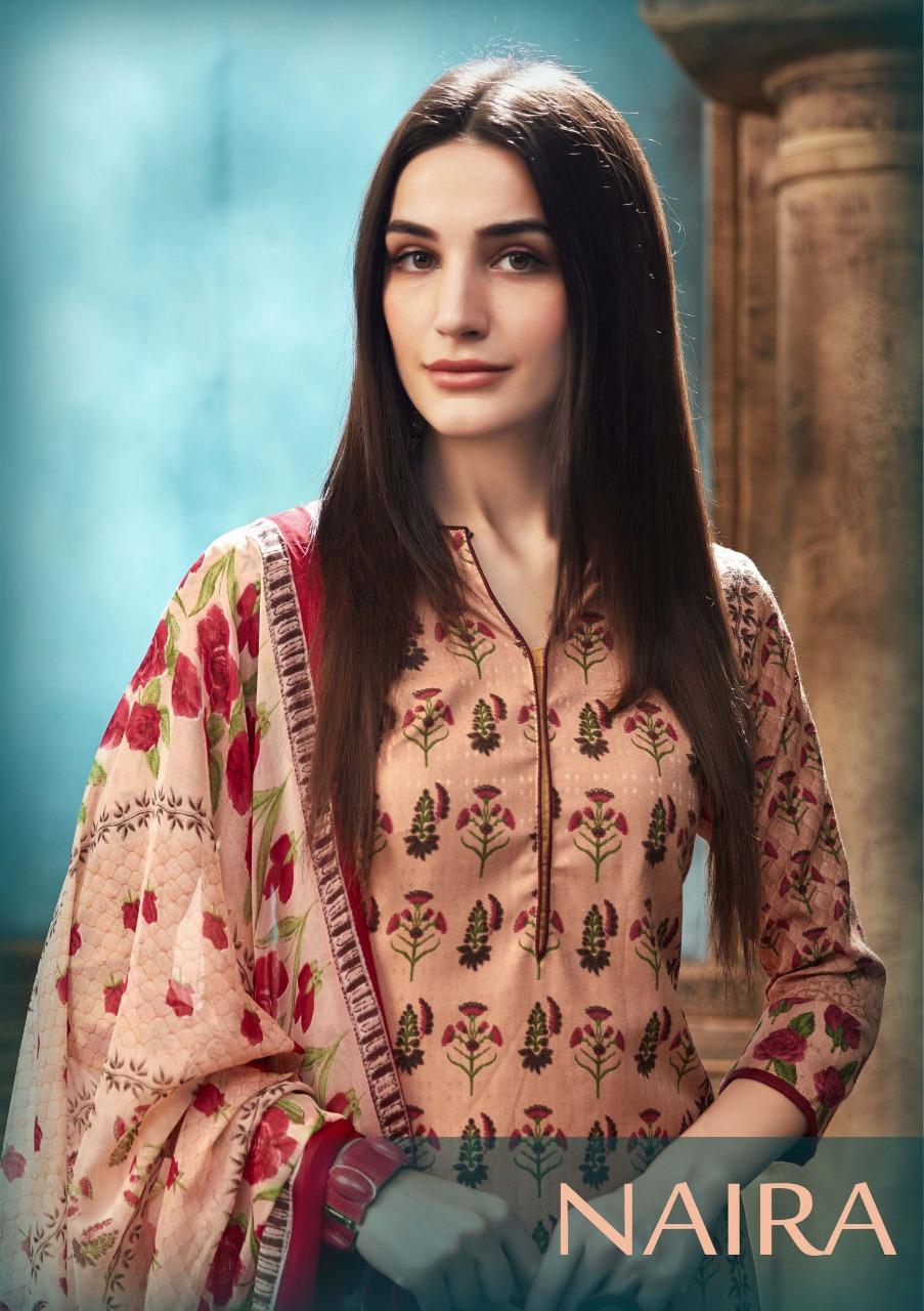 Sargam prints nairra Pashmina designer dress material collection
