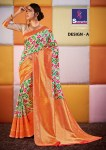 Shangrila presenting sanskruti beautiful rich look sarees collection