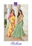 Shangrila presents belizia Beautiful semi casual wear sarees collection