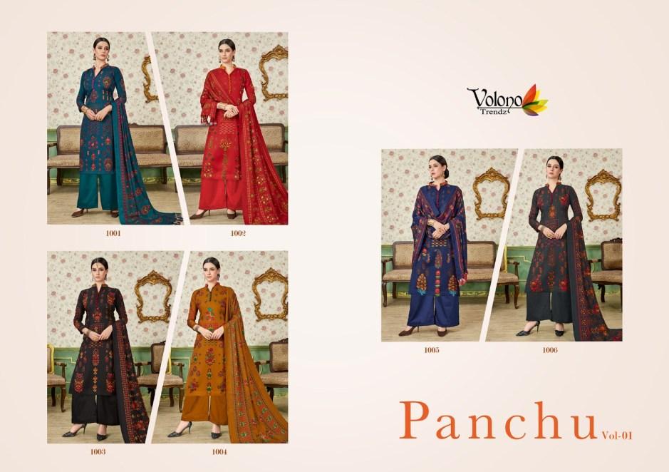 Volono trendz panchu vol 1 casual daily wear salwar kameez collection
