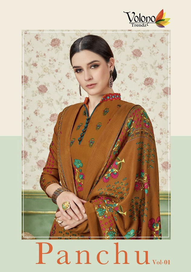 Volono trendz panchu vol 1 casual daily wear salwar kameez collection
