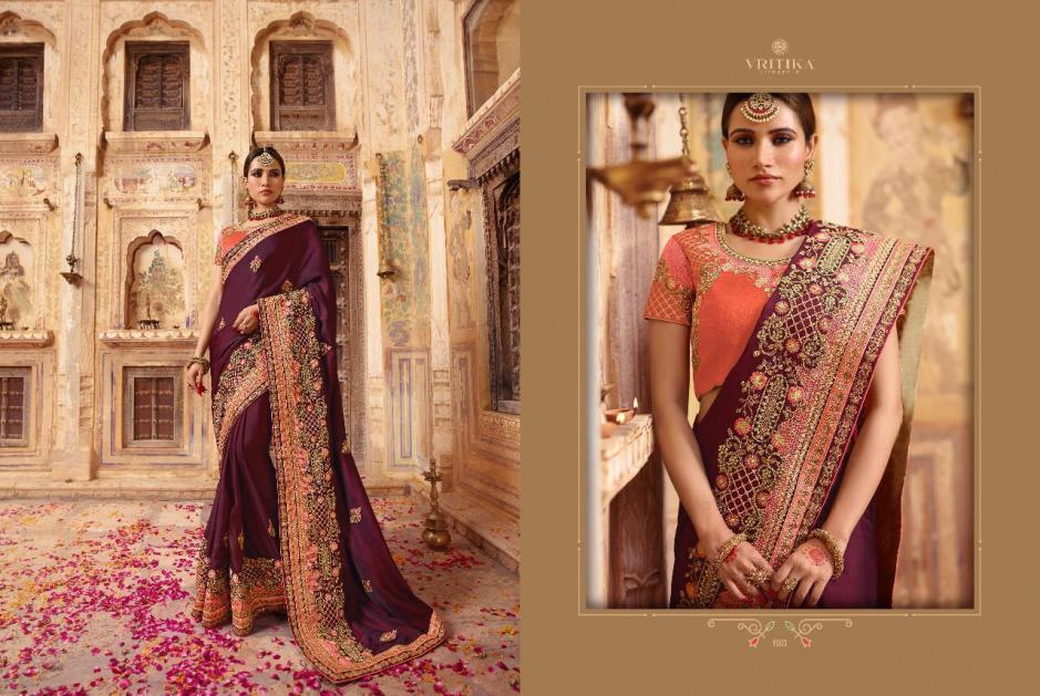 VRITIKA LIFE STYLE Launch palas vol 9 special Festive heavy collection of sarees