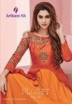 Arihant designer presenting FLORET vol 4 designer party wear concept of gowns