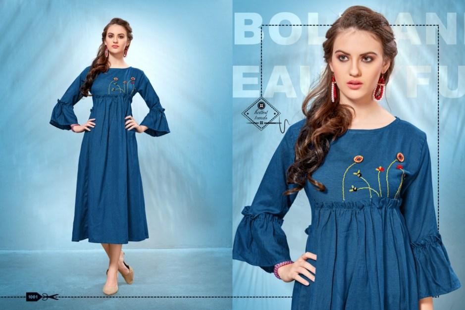 Banwery fashion TM Presents MADHUBALA beautiful collection of kurtis
