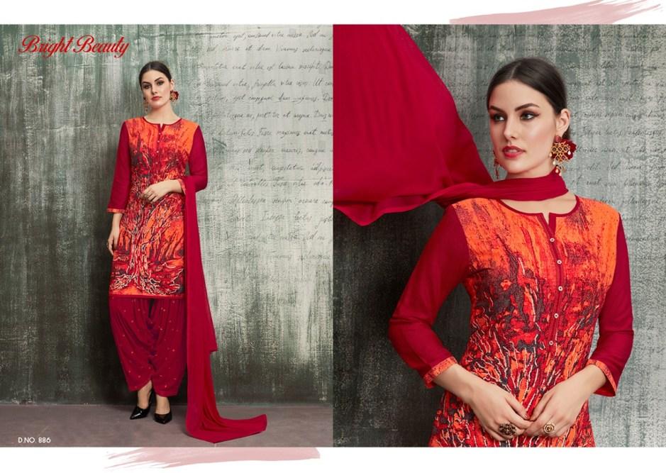 Kajree fashion royal by patiyala Vol 4 simple casual salwar kameez collection
