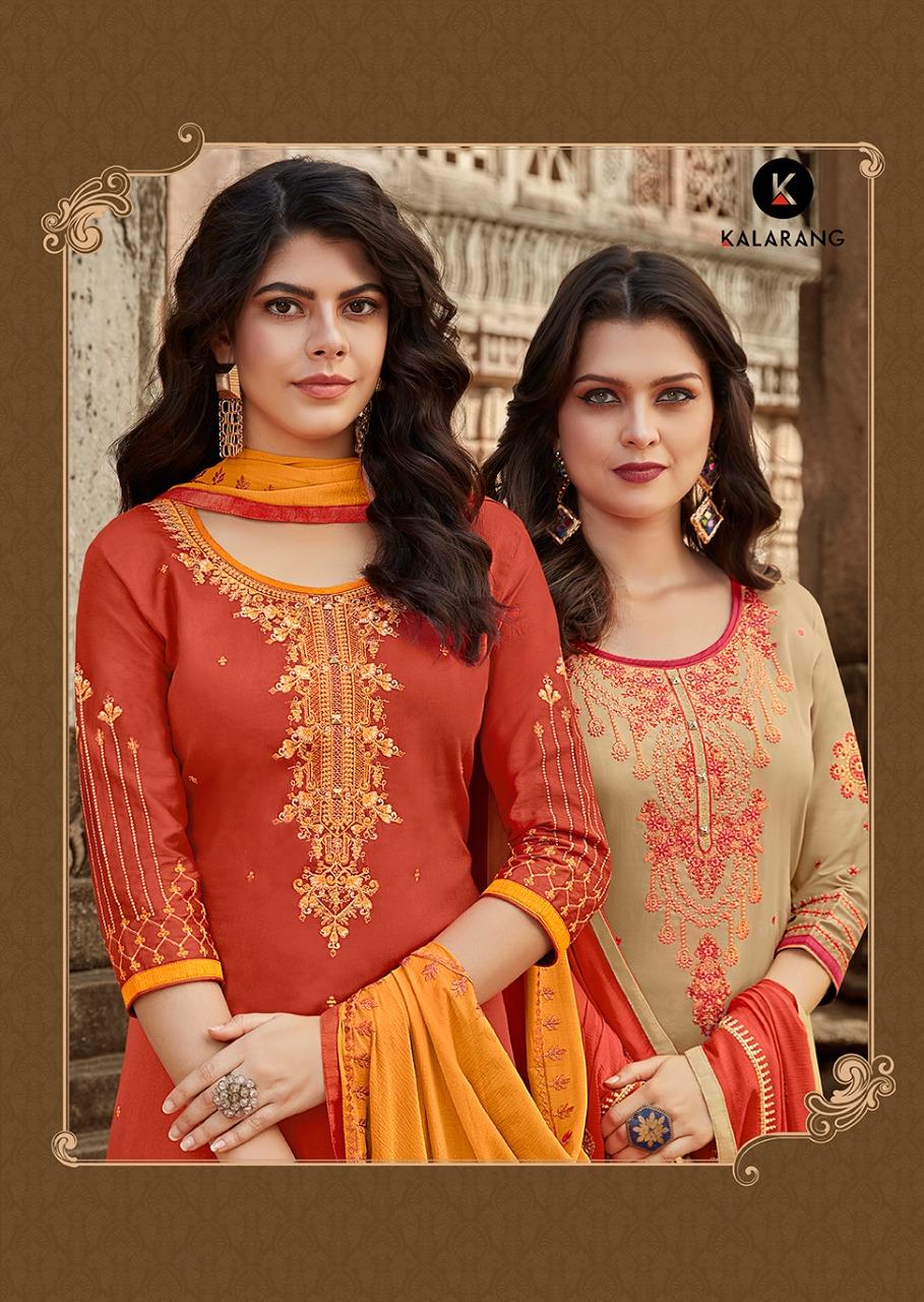 Kalarang creation traditional vol 2 simple casual salwar kameez collection