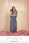 Mrigya clothing attitude Vol 2 beautiful long gown style kurtis collection