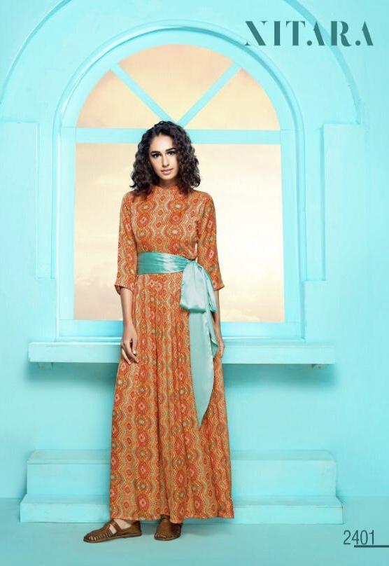 Nitara ADEL beautiful Stylish collection of kurtis