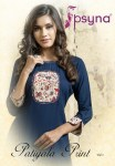 Psyna patiyala Print vol 3 beautiful trandy Look kurtis collection