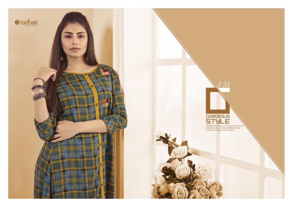Radhak fashion series 2 beautiful collection of kurtis