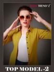 Rani trendz top model 2 stylish casual wear long top style kurti Concept