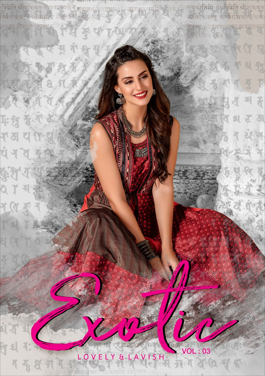S4U launch extoic vol 3 Lovely party wear long gown collection