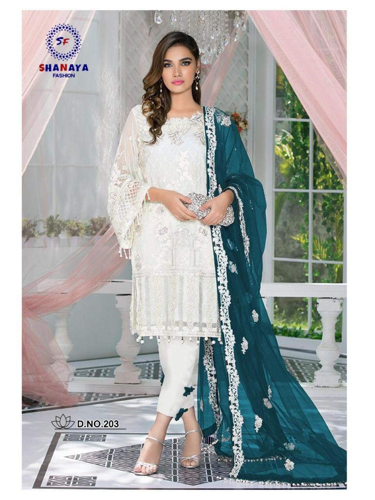 SHANAYA fashion rose classic blockbuster party wear stylish salwar kameez concept
