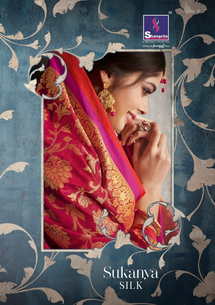 Shangrila Launch sukanya silk simple rich look sarees collection