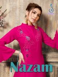Suvesh nazam exclusive party wear gowns style long kurtis collection