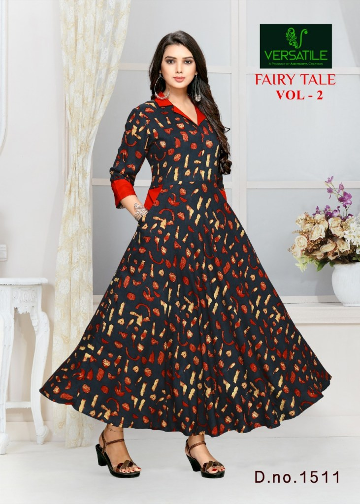 Versatile fairy tale vol 2 casual wear long gown Collection