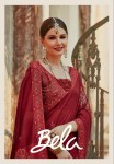 Bela sparkle traditional Wear Colourful saree party wear collection