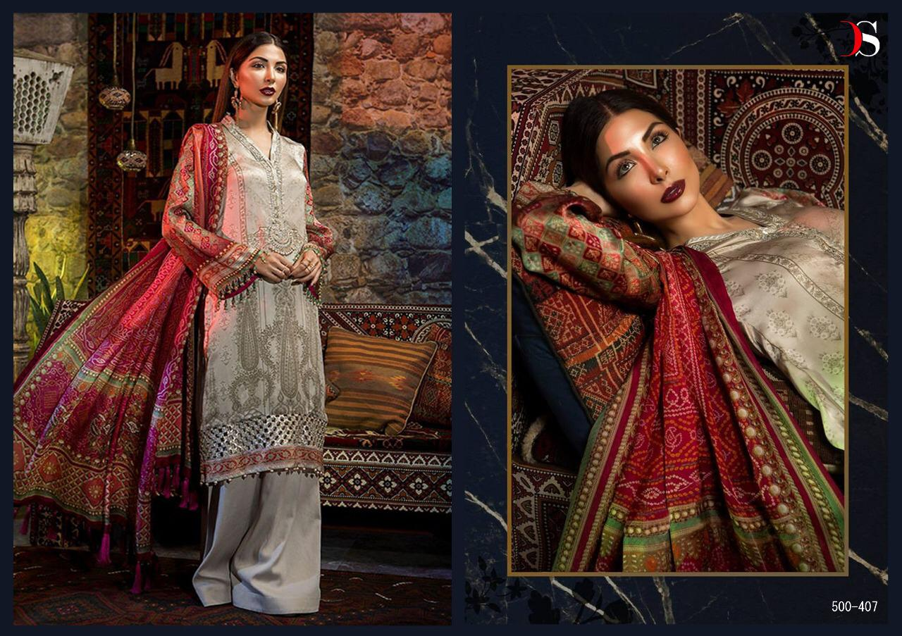 610f44fe01 Deepsy suits elan silk 3 colourful designer fancy suits festive wear  collection at Wholesale price