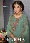 Eba lifestyle Hurma Vol 5 heavy embroidered party wear Salwar Kameez Collection