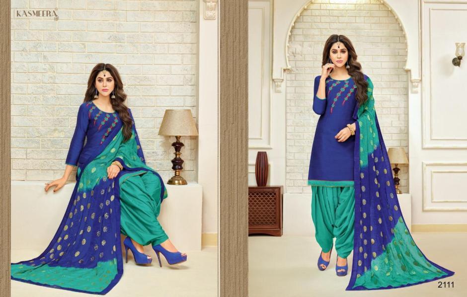 Kasmeera simmba patiyala stylish casual wear Salwar Kameez catalog