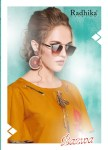 Radhika azara bazwa heavy rayon beautiful party wear fancy Kurties Collection
