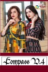 Riya designer compass vol 3 ready to wear rayon Kurties Collection at Wholesale prices