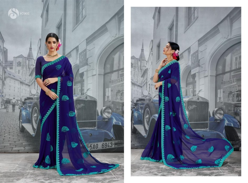 Saroj luxuria Indian Traditional Wear printed sarees Collection