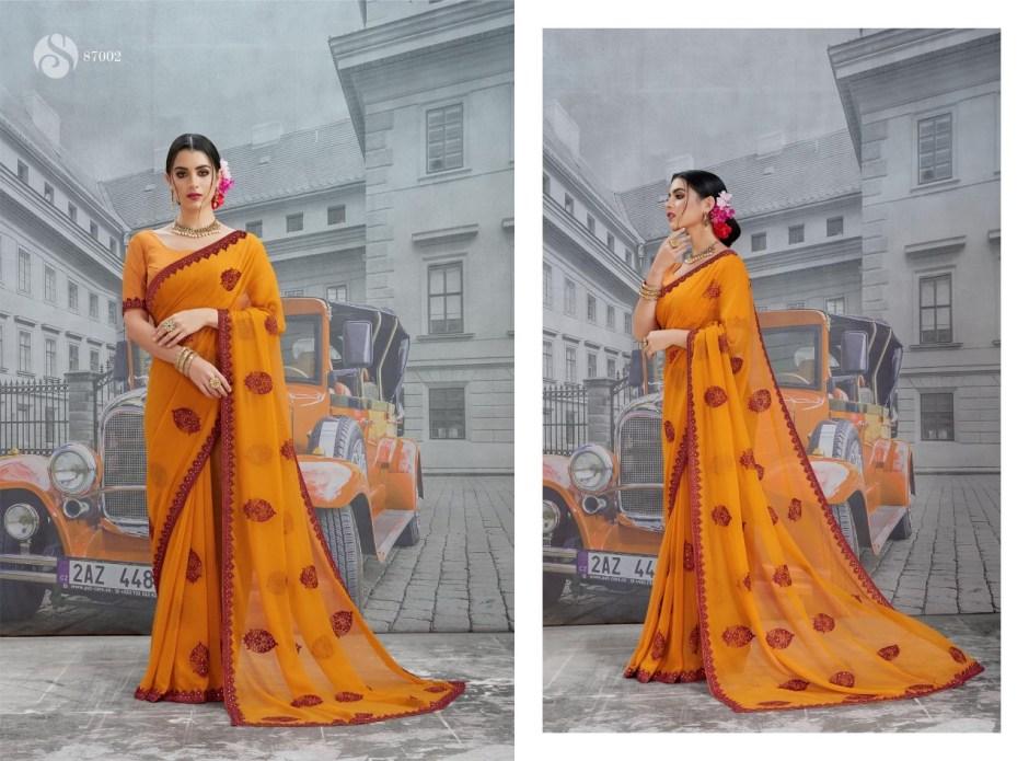 Saroj luxuria Indian Traditional Wear printed sarees Collection