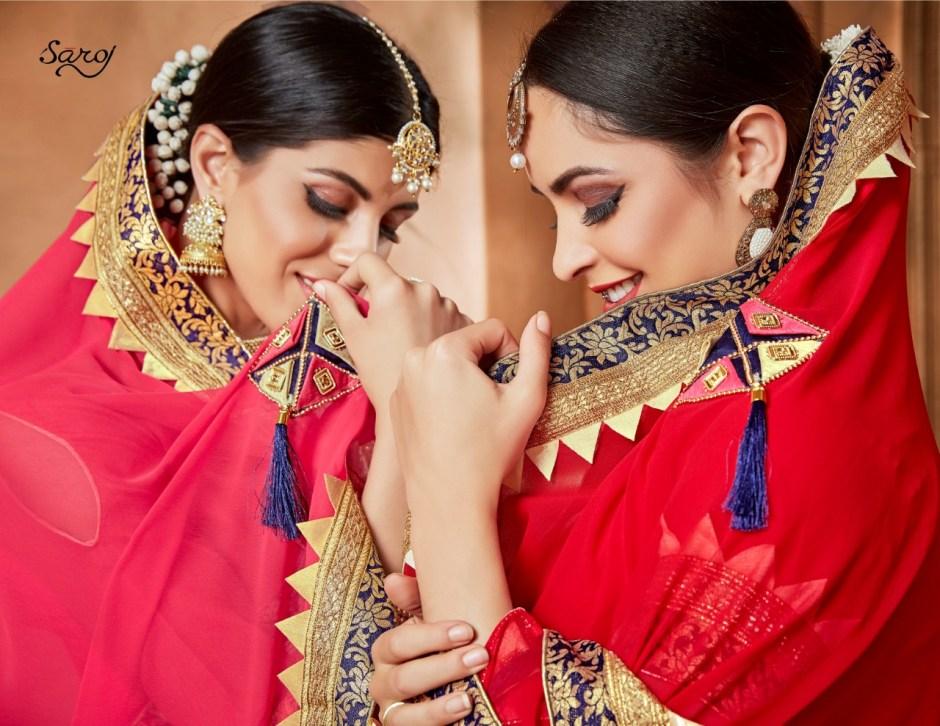 Saroj pratigya beautiful traditional sarees collection