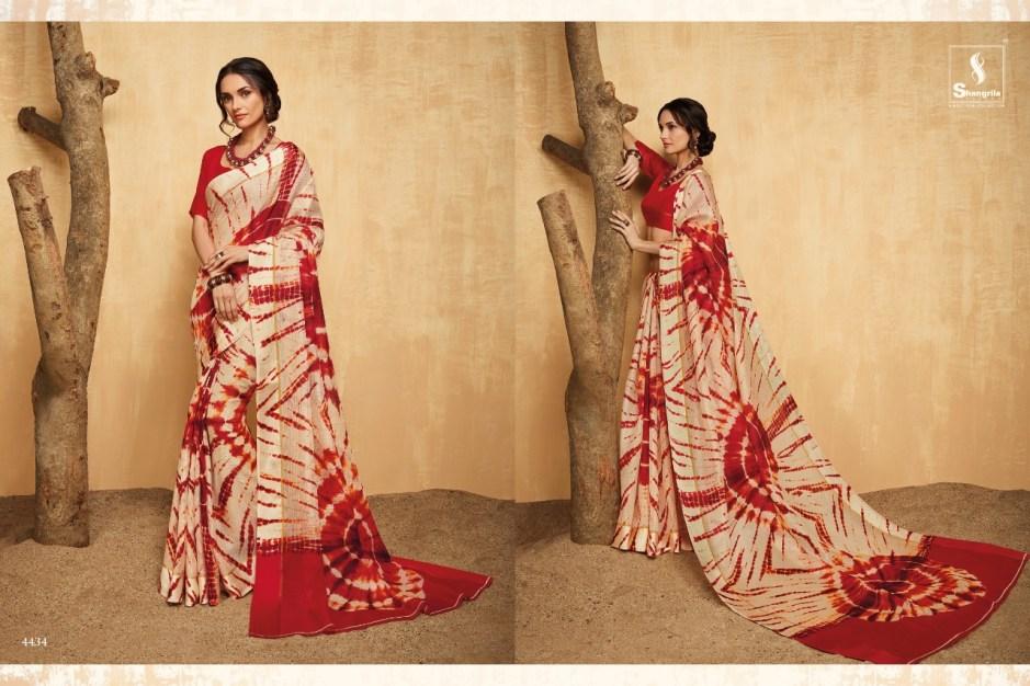 Shangrila rang utsav vol 5 traditional Wear bright colours beautiful pattern sarees catalog Wholsaler