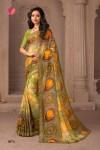 Varsiddhi mintorsi Mix chiffon traditional Wear Stylish Printed Sarees Collection Dealer